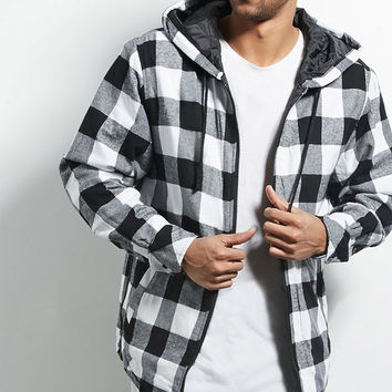 Victorious Plaid Flannel Jacket