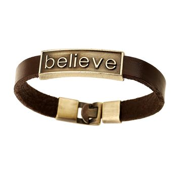Inspirational Bracelet Collection - Genuine Leather - 4 Designs