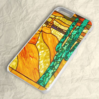 Cactus Stained Glass iPhone 6 Case