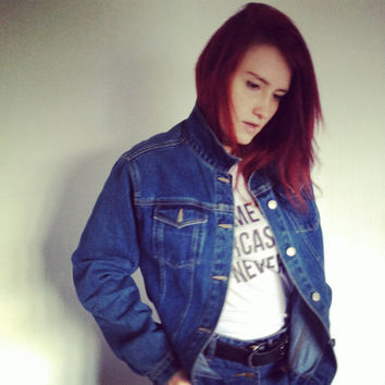 Vintage 90s jeans denim jacket