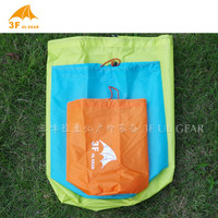 3F UL Gear S/M/L 210T Polyester Taffeta Tent Fabric Ultralight Versatile Waterproof  Drawstring Sack Bucket Tent Pegs Bag