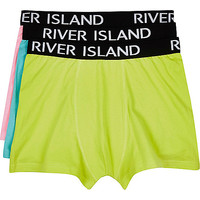 River Island MensColorful RI boxer shorts pack