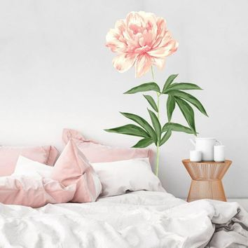 Floral Wall Decal Cut-Outs ~ Peony