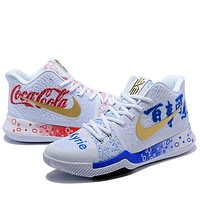 Trendsetter  Nike Kyrie 3  Women Men Fashion Casual Sneakers Sport Shoes