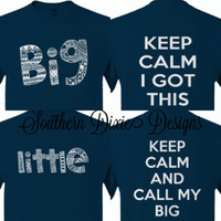 Big and Little Keep Calm T-Shirts