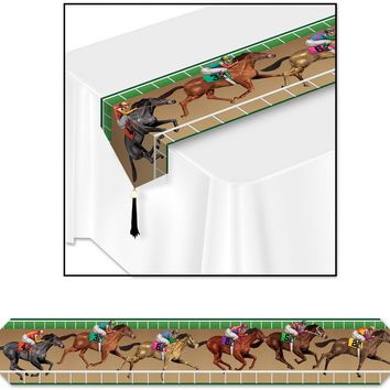 Printed Horse Racing Table Runner Case Pack 24