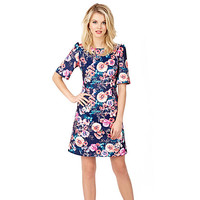 SWEET BLOSSOMS DRESS: Betsey Johnson