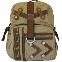 Canvas Traveler Ultimate Gear Backpack with Multiple Compartments