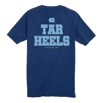 UNC Tar Heels Chant Short Sleeve T-Shirt by Southern Tide