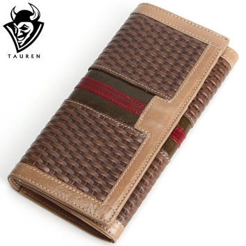 Men Long Zipper Wallet Wallets Purse Clutch Bag For Men Wallets