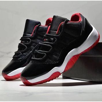 Nike Air Jordan 11 AJ11 Antiskid and Wear-Resistant Sports Shoes with Low-Up Basketball Shoes