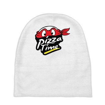 pizza time Baby Beanies