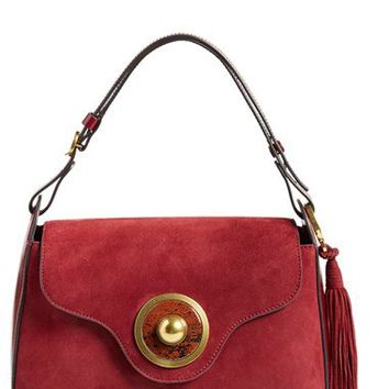 Tory Burch 'Large' Tassel Shoulder Bag | Nordstrom