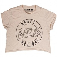 The Laundry Room 'Draft Beer' Crop Top | Orchid Boutique