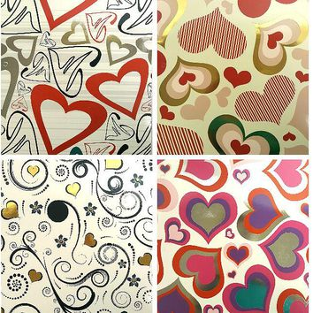 Two Pocket Folders Peace & Love - CASE OF 50