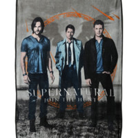 Supernatural Trio Fleece Throw
