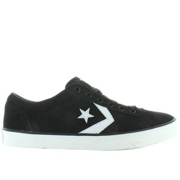 ESBONIG Converse All-Star Wells Ox - Black/White Canvas Lace Sneaker