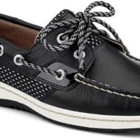 Sperry Top-Sider Bluefish Sport Mesh 2-Eye Boat Shoe Black/SportMesh, Size 7.5M  Women's Shoes