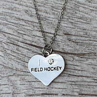 Love Field Hockey Necklace