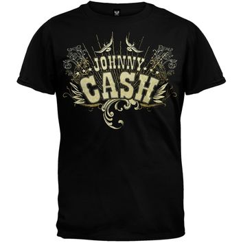 Johnny Cash - Birds T-Shirt
