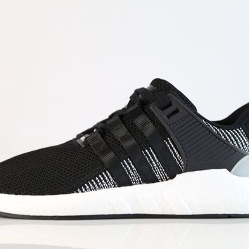 BC QIYIF Adidas EQT Support 93 17 Boost Core Black White BY9509