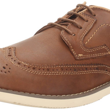 Steve Madden Men's Traverse Oxford Tan Leather 10.5 D(M) US '