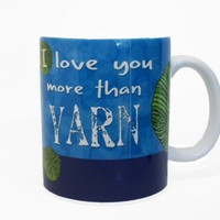 More Than Yarn Funny Sheep Mug