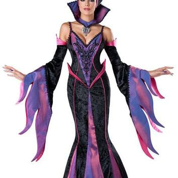 Atomic Purple and Black Maleficent Inspired Costume
