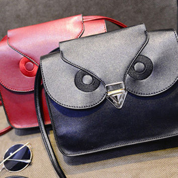 Summer Strong Character Bags Owl One Shoulder Stylish Messenger Bags [6583159559]