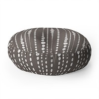 Heather Dutton Bestrewn Stone Floor Pillow Round