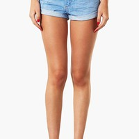Topshop Moto 'Polly' Denim Shorts