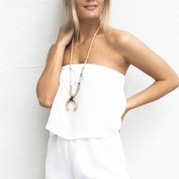 Places I've Been White Romper