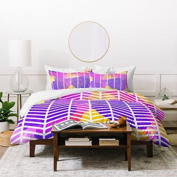 Rebecca Allen Purple Bliss Duvet Cover