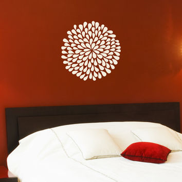 Poppy Flower wall decals