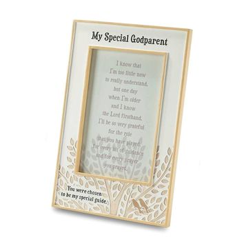 My Special Godparent 4x6 Photo Frame