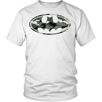 MILITARY CAMOUFLAGE BATMAN t-shirt