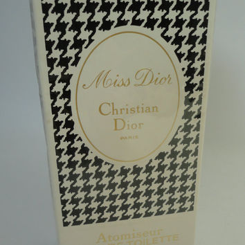 Vintage: Miss Dior by Christian Dior eau de toilette, 112ml Atomiseur new in bottle, still wrapped