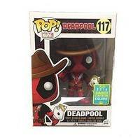Funko Pop Marvel: Deadpool Cowboy 2016 SDCC Exclusive Vinyl Figure