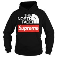 The north face supreme shirt Hoodie