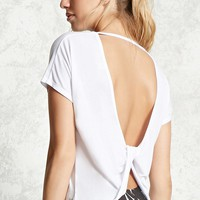 Active Twist Back Tee