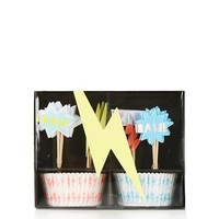 Superhero Cupcake Kit - Gifts & Novelty - Bags & Accessories