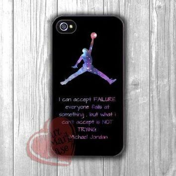 CREYUG7 michael jordan quote to trying -11ny for iPhone 4/4S/5/5S/5C/6/ 6+,samsung S3/S4/S5,sa