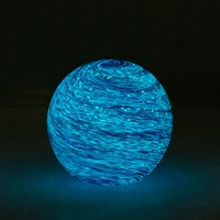 Glass Galaxy Glow-In-The-Dark Orb | Urban Outfitters