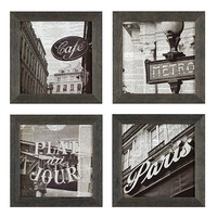 Paris Newsprint Framed Art | Ballard Designs