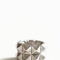 Double Trouble Stud Ring - $12.00 : ThreadSence, Women's Indie & Bohemian Clothing, Dresses, & Accessories