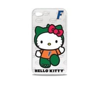 Tribeca Gear FVA7005 Hard Shell Case for iPhone 4 -  Hello Kitty - University of Florida - 1 Pack - Retail Packaging - White