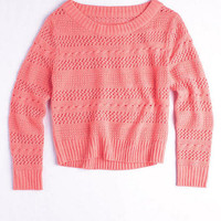 Mixed Stitch Sweater