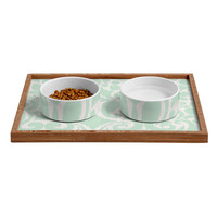 Khristian A Howell Eloise Pet Bowl and Tray
