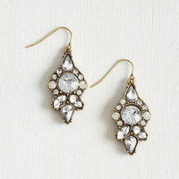 Supreme Gleaming Earrings by ModCloth