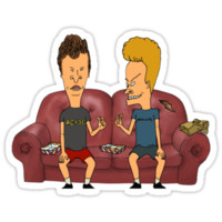 BEAVIS AND BUTTHEAD by mitchmur